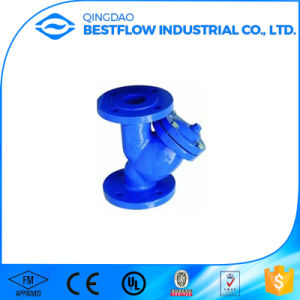 DIN/ANSI Cast Iron Flange End Y Strainers pictures & photos