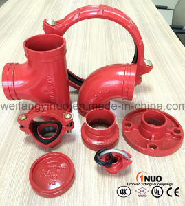 Ductile Iron Grooved Pipe Fittings with FM/UL/Ce Certificates pictures & photos