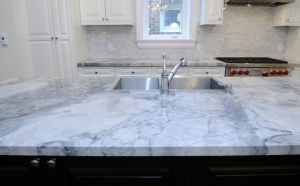 Artificial Marble Veins Color Artificial Stone Quartz Stone Slabs pictures & photos