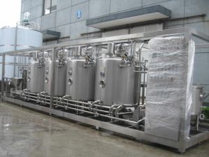 4t/H Stirring Yogurt Processing Line pictures & photos