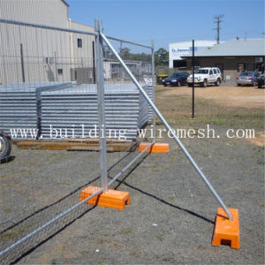 High Quality Galvanized Temporary Fence ISO9001 Factory pictures & photos