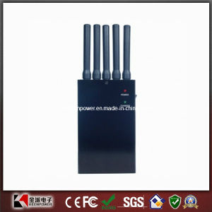 5 Bands Handheld 3G Cell Phone Jammer pictures & photos