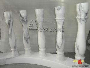 New Carrara White Marble Polished Balusters for Balustrade pictures & photos