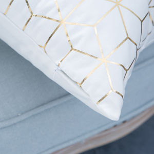 Foil/Gold&Silver Print Decorative Cushion/Pillow (MX-31) pictures & photos