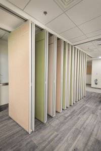 Aluminum Soundproof Movable Partition Walls for Multi-Function Hall pictures & photos