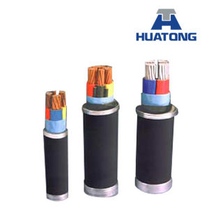 6/6kv XLPE Insulated Armoured Power Cable pictures & photos