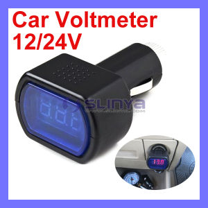 23G Accuracy +/-%1.2 12 24V Vehicle LED Car Digital Voltmeter pictures & photos
