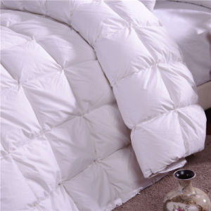 High Fill Power Baffle Box Duvet Down Comforter pictures & photos