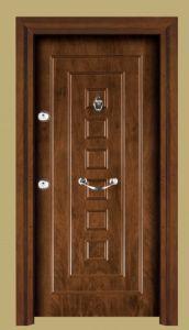 Turkey Style Wooden Steel Armored Door Entrance Door pictures & photos