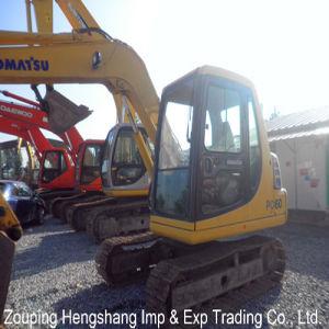 Used Mini Excavator Komatsu Excavator (PC60)