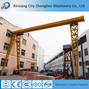 Customized Bridge Crane Mobile Hoist Single Beam Overhead Crane pictures & photos