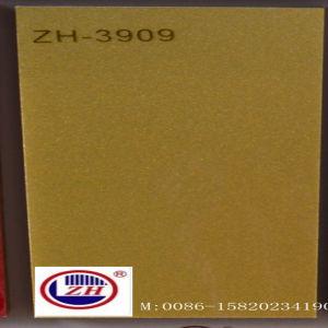 Golden Metallic UV MDF for Kitchen Cabinet Door (ZH-3909) pictures & photos
