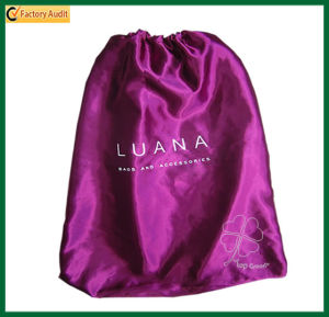 Cosmetic Beach Pouch Satin Drawstring Bags (TP-dB028) pictures & photos