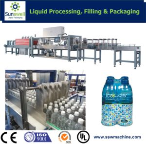 Shrink Wrapper (ISO certificate) for Shaped Bottles pictures & photos