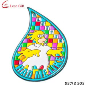 Wholesale Enamel Giltter Lapel Pin (LM1079) pictures & photos