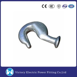 70kn Hot DIP Galvanized Forged Steel Ball End Hook pictures & photos