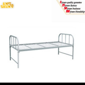 Luoyang Factory Single Bed / Metal Bed pictures & photos