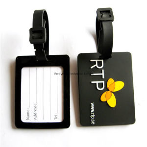 3D Cartoon Custom Luggage Tag Name Tag for Promotion Gift pictures & photos