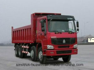 HOWO 371HP 8X4 Tipper/Dump Truck pictures & photos