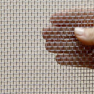 Stainless Steel 304 Square Woven Wire Mesh pictures & photos
