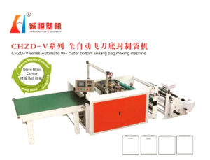 Chzd-V Series Automatic Fly-Cutter Bottom Sealing Bag Making Machine pictures & photos