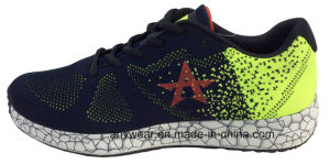 Men Sneakers Flyknit Footwear Running Sports Shoes (M-16744) pictures & photos