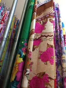 100% Polyester Microfiber Printed Bed Sheet Fabric pictures & photos