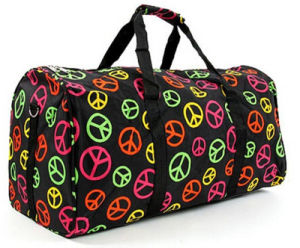 Leisure Colorful Printing Weekend Travel Duffel Bags pictures & photos