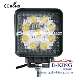 IP67 27W Square Epistar LED Work Light pictures & photos