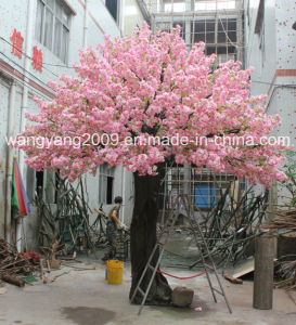 High Quality Cheap Price Factory Sale Artificial Fake Handmade Sakura Cherry Blossom Tree for Decoration pictures & photos