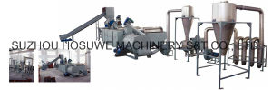 PP PE Film Crushing Washing & Drying Line (100-2000kg/h) pictures & photos
