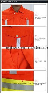 Reflective Jacket for Cleaning Workers (C2406) pictures & photos