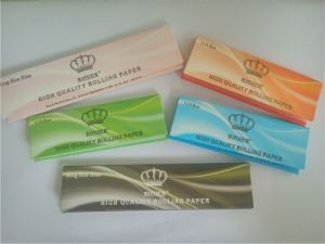 16GSM Cigarette Rolling Paper 1 1/4 Size Factory Offer pictures & photos