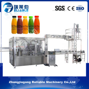 Automatic 3in1 Juice Hot Filling Equipment / Beverage Bottling Machine pictures & photos