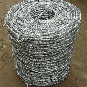 PVC Coated Barbed Wire Price Free Packing (factory price) pictures & photos