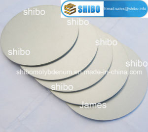 99.95% Pure Molybdenum Discs pictures & photos