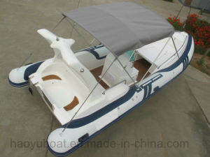 24feet Luxury Speed Boat, Rescue Boat, Fiberglass Boat, Rib Boat, China Hypalon Boat Rigid Boat pictures & photos