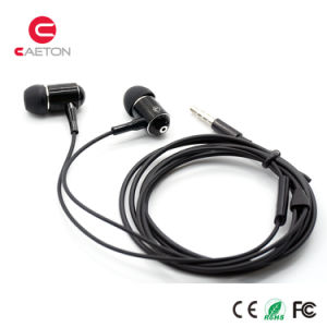 Metal Sports Earbuds 3.5mm Jack Earphone with OEM pictures & photos