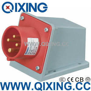 Economic Type Wall Mounted Plug with IEC Standard (QX-336) pictures & photos