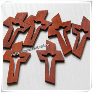 Wood Cross ((wood crafts in laser-cutting & engraving) Io-Cw024 pictures & photos