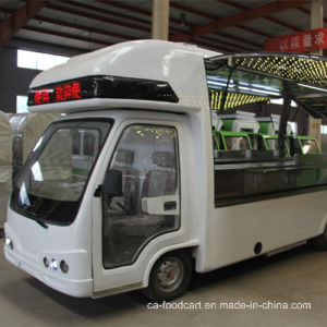 Solar Electric Mobile Buffet Car, Dining Car pictures & photos