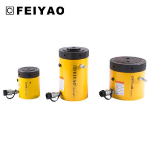 100tons Single-Acting Mechanical Safe Lock Nut Hydraulic Cylinders (FY-CLL) pictures & photos