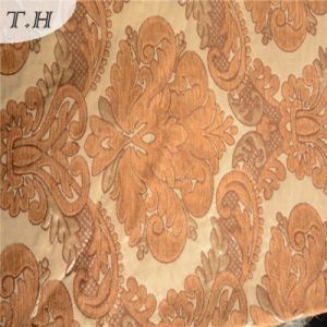 2016 Orange Jacquard Fabric for Sofa and Furniture Specially (FTH32082) pictures & photos