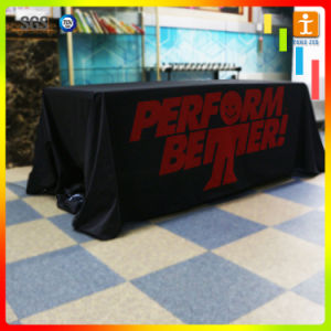 Custom High Quality Printed Polyester Table Cloth pictures & photos