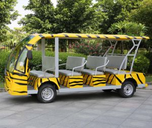 Ce Approved 14 Seats Electric Shuttle Bus in Airport (DN-14) pictures & photos