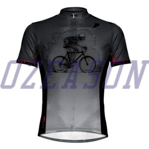 New Style Polyester Spandex Dye Sublimation Dry Fit Cycling Jerseys pictures & photos