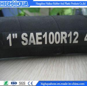 High Pressure Wire Spiral Hydraulic Hose DIN En856/ SAE 100r12 pictures & photos
