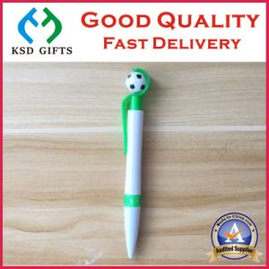 Customized Transparent Plastic Promotion Ballpoint Pens pictures & photos