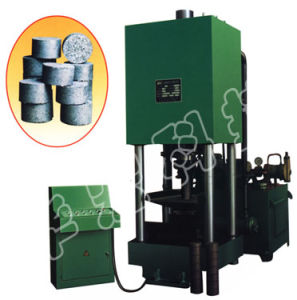 Hydraulic Metal Scrap Sawdust Briquette Press Machine for Recycling pictures & photos