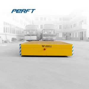 Remote Control Material Handling 35t Trackless Transfer Cart pictures & photos